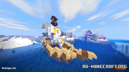 Скачать NaturalPack [64x64] для Minecraft PE 1.11
