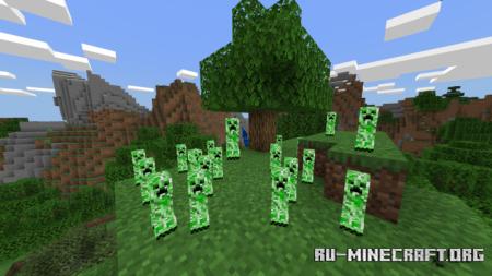Скачать Baby Creepers для Minecraft PE 1.10