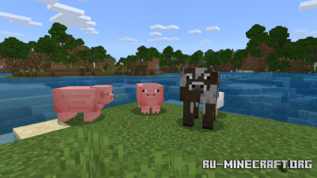 Скачать Heckin' Chonkers [16x16] для Minecraft PE 1.12
