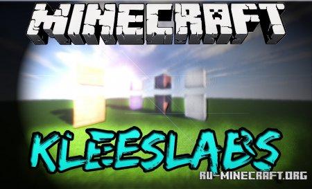 Скачать KleeSlabs для Minecraft 1.14.3