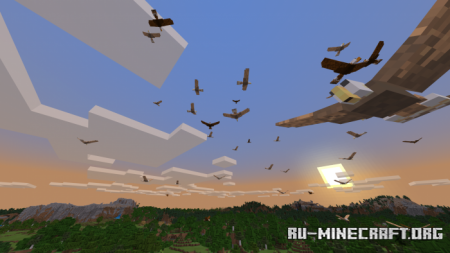 Скачать HAWKS для Minecraft PE 1.11