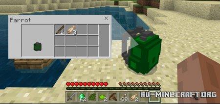 Скачать Vanilla Backpacks для Minecraft PE 1.11