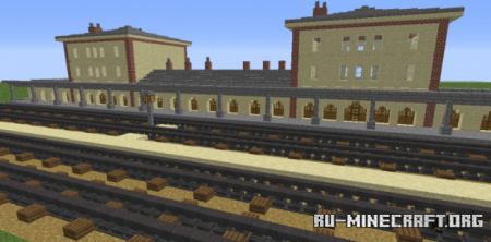 Скачать Old Trainstation для Minecraft