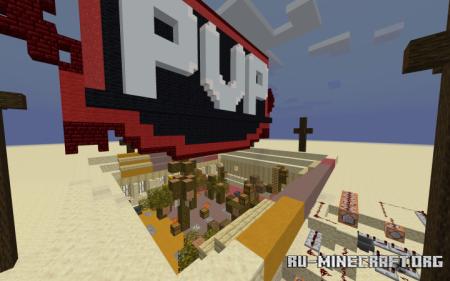 Скачать 1v1 PvP Minigame для Minecraft