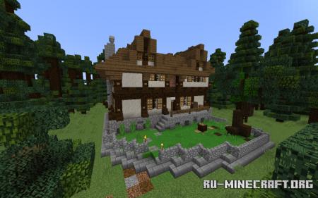 Скачать Tudor-Style House для Minecraft