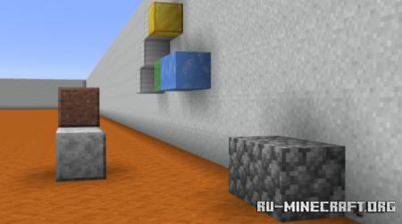 Скачать Block Type Parkour Engine для Minecraft