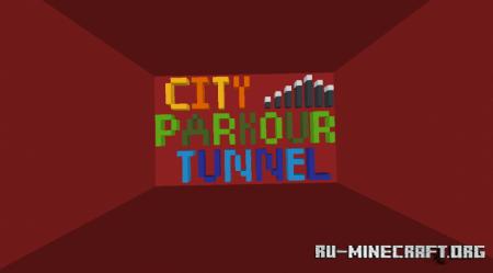Скачать City Tunnel Parkour для Minecraft
