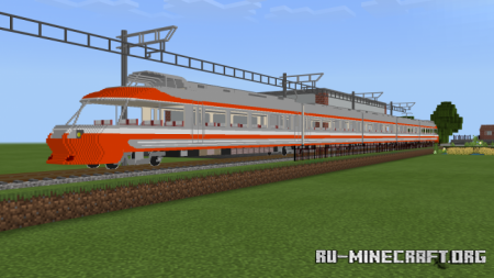 Скачать Real Train для Minecraft PE 1.12