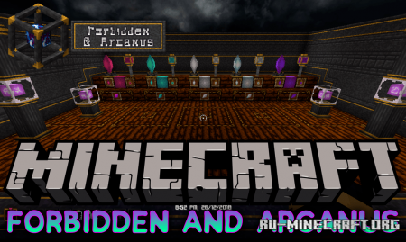 Скачать Forbidden and Arcanus для Minecraft 1.14.3