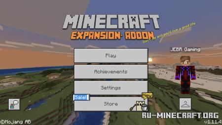 Скачать Expansion для Minecraft PE 1.13