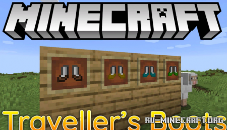 Скачать Traveller's Boots для Minecraft 1.14.3