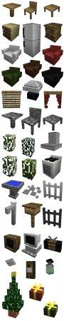 Скачать MrCrayfish's Furniture для Minecraft 1.13.2