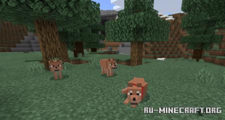 Скачать Wolves Plus для Minecraft PE 1.12