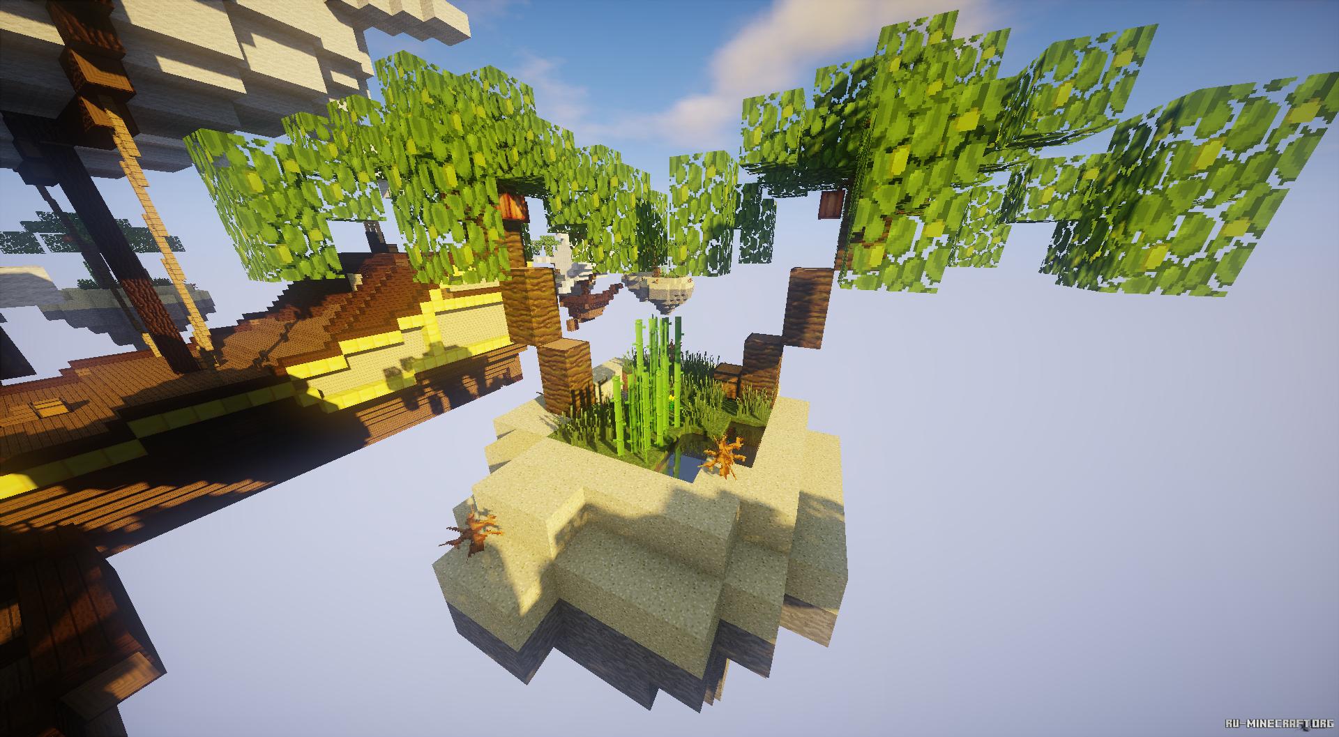 Lobby Зал Ожидания/Лобби для BedWars в Minecraft