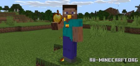 Скачать InedibleFood для Minecraft PE 1.12