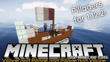 Скачать Village and Pillage для Minecraft 1.12.2