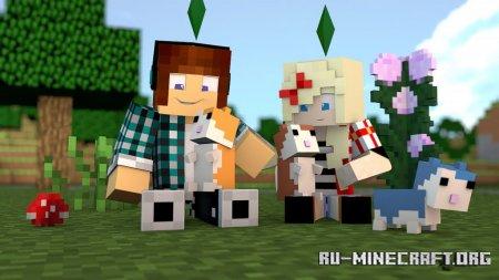 Скачать Cute Hamsters для Minecraft 1.12.2