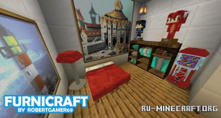Скачать Furnicraft для Minecraft PE 1.13