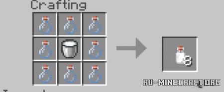 Скачать Milk Bottles для Minecraft PE 1.13