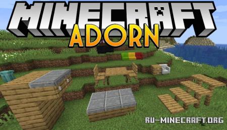 Скачать Adorn для Minecraft 1.14.4