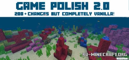 Скачать Game Polish для Minecraft PE 1.12