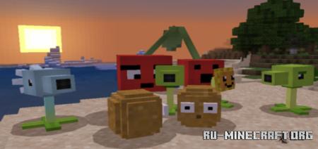 Скачать Plants vs. Zombies для Minecraft PE 1.13