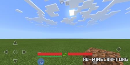 Скачать Material Design HUD для Minecraft PE 1.13
