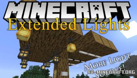 Скачать Extended Lights для Minecraft 1.14.4