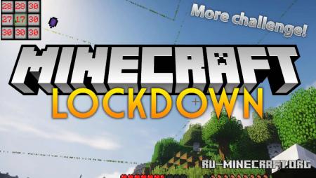 Скачать Lockdown Challenge для Minecraft 1.12.2