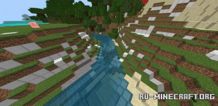 Скачать Ore Biomes для Minecraft PE 1.12