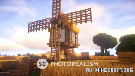 Скачать SC Photorealism [128x] для Minecraft 1.14