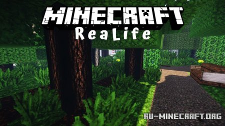 Скачать ReaLife [64x] для Minecraft 1.13
