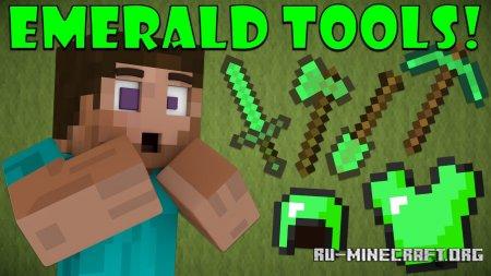 Скачать Emerald Tools для Minecraft PE 1.12