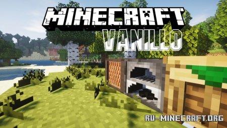 Скачать Vanillo [16x] для Minecraft 1.13