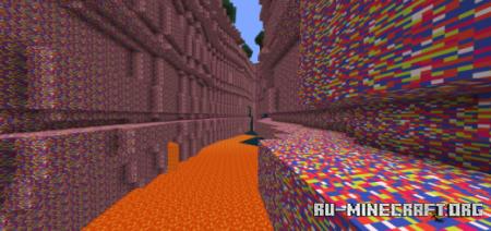 Скачать Insane Caving для Minecraft PE 1.12
