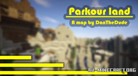 Скачать The King of Parkour Land для Minecraft