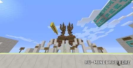 Скачать McM Parkour Race для Minecraft