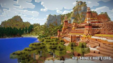 Скачать Vanilla Vistas для Minecraft 1.12.2