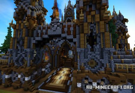 Скачать Factions Medieval Spawn для Minecraft