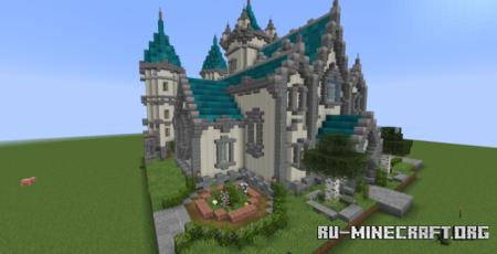 Скачать A White Palace для Minecraft