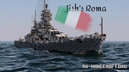 Скачать Italian Battleship Roma для Minecraft