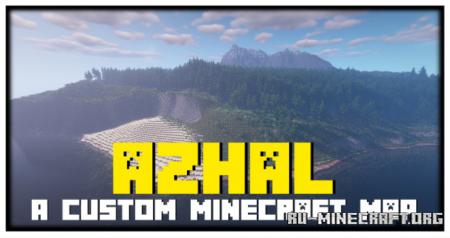 Скачать Azhal - A custom map для Minecraft