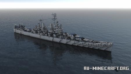 Скачать USS Baltimore (CA-68) для Minecraft