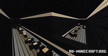 Скачать Black and White Parkour для Minecraft