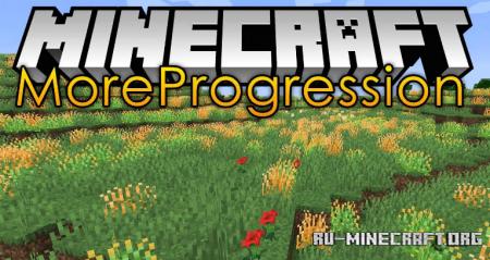 Скачать More Progression для Minecraft 1.14.4