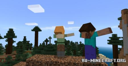 Скачать Dab Addon для Minecraft PE 1.13