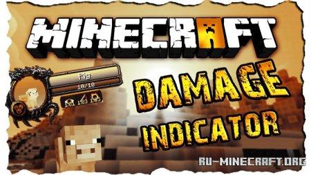 Скачать ToroCraft's Damage Indicators для Minecraft 1.14.4