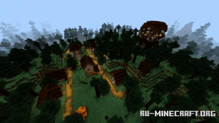 Скачать UltraMin Shader для Minecraft PE 1.12
