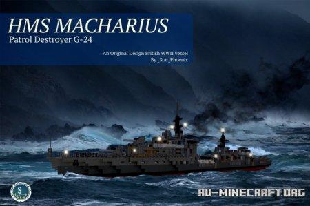 Скачать HMS Macharius для Minecraft