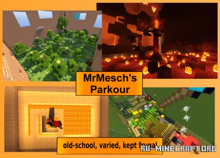 Скачать MrMesch's Parkour для Minecraft